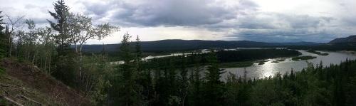 Yukon před Pelly Crossingem