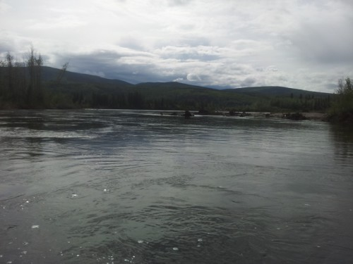 soutok se Stewart River