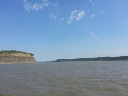 překonání druhé největší řeky severní Ameriky