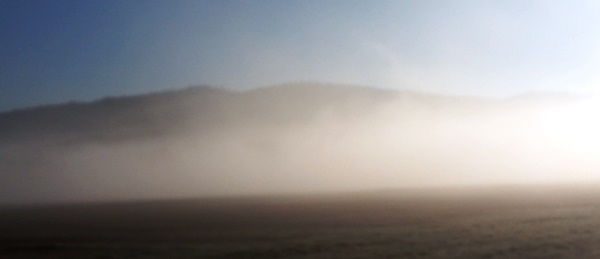 mlha se hlásí