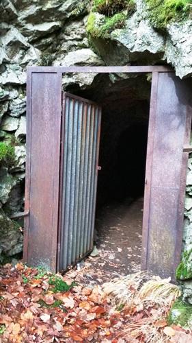 vchod do štoly